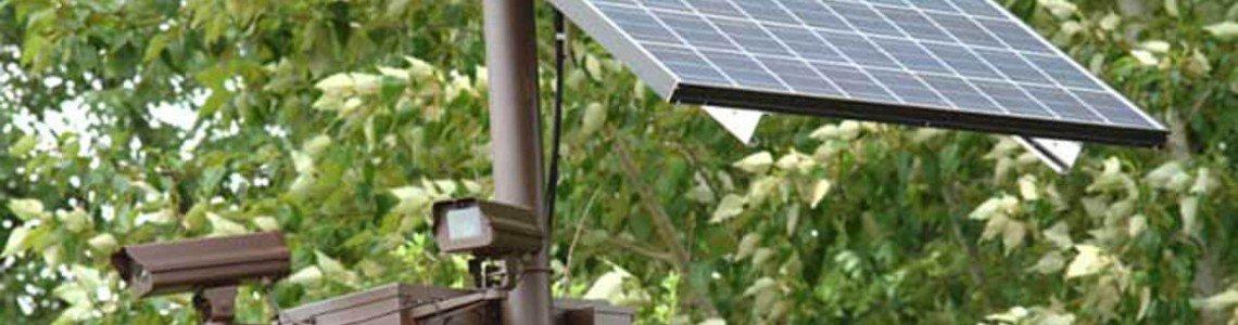 Система за видеонаблюдение със соларно (автономно) захранване