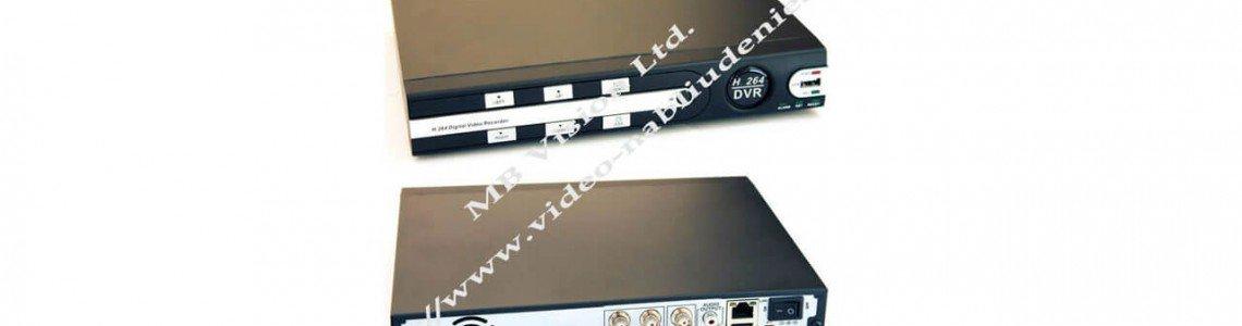 Ревю: DVR рекордер MBR6104 с 4 видео канала