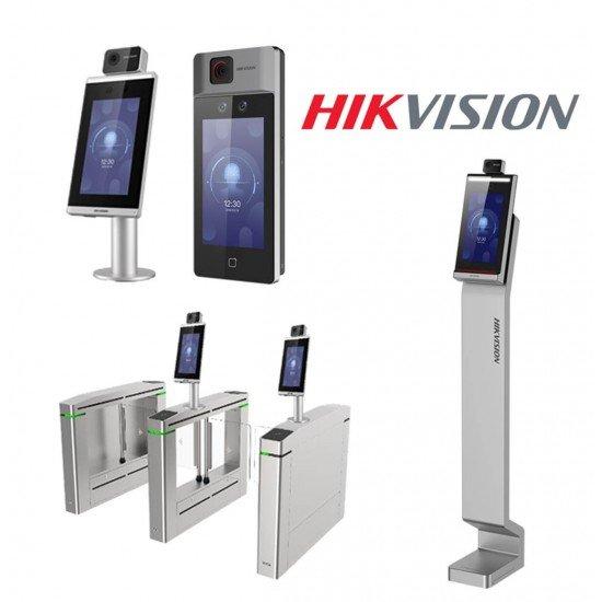 Биометричен терминал, термографска камера, контрол достъп Hikvision DS-K1T671TM-3XF