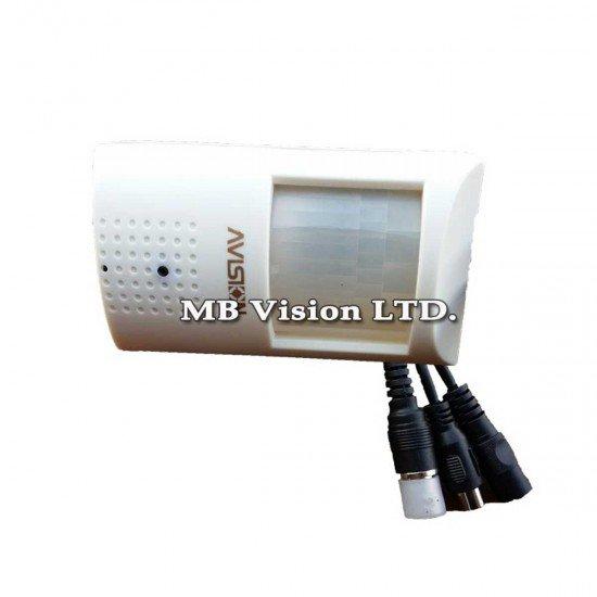Цветна камера в корпус на PIR датчик