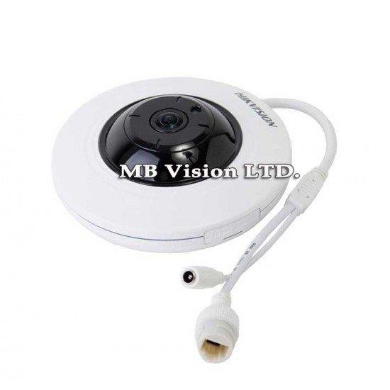 Панорамна 180 градуса IP камера Hikvision DS-2CD2942F-I 4MP, IR 10 метра