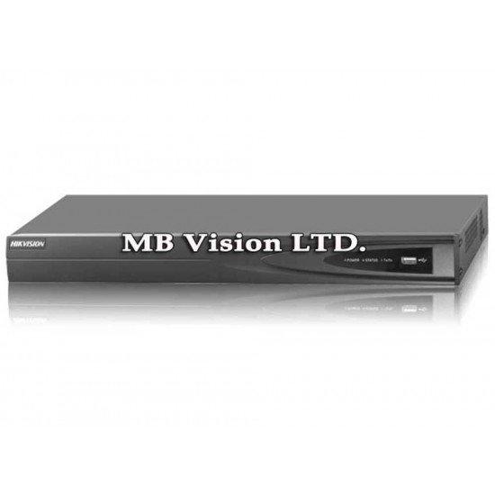 4-канален NVR, 4 PoE, Hikvision DS-7604NI-K1/4P