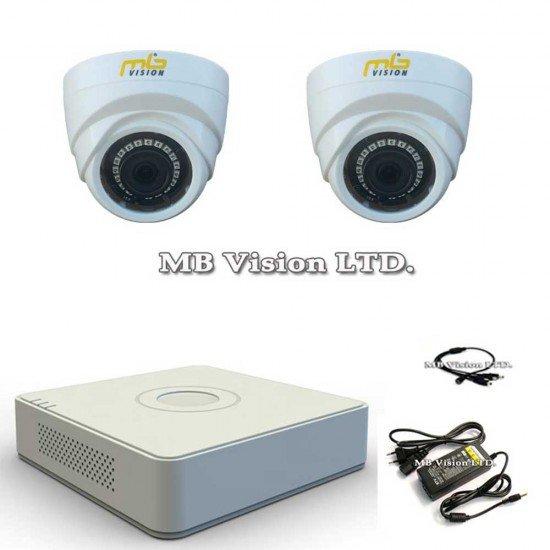 HD комплект с 2 HD камери и DVR