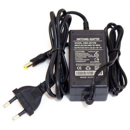 Захранващ адаптер за камери 12V, 2A