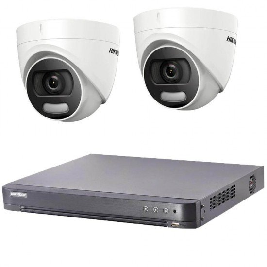 Комплект 2MP, ColorVu + DVR Hikvision